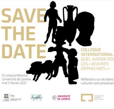 Save the date Fondation du Droit de l'Art